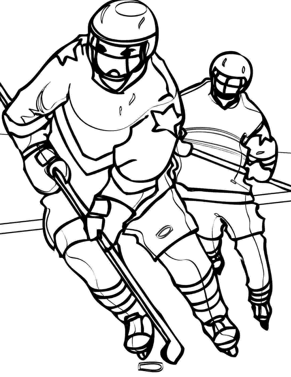 hockey coloring page franklin playing ice hockey coloring pages hellokidscom page hockey coloring