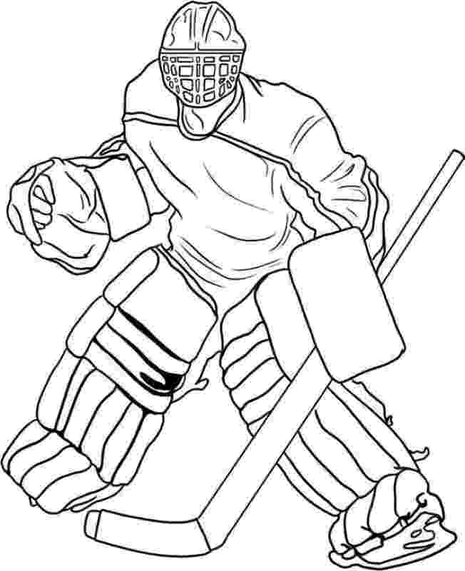 hockey coloring page goal the hockey coloring book dover publications coloring page hockey