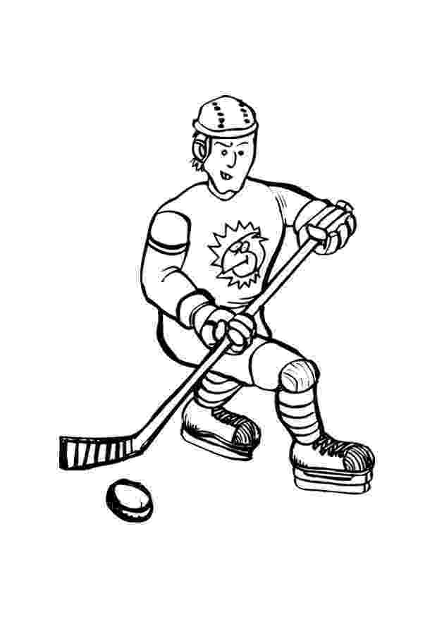 hockey pictures to color free printable hockey coloring pages for kids to pictures hockey color