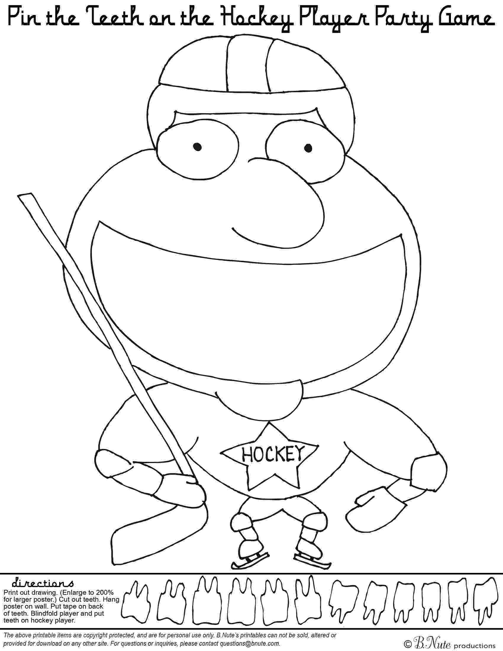 hockey pictures to color hockey coloring pages getcoloringpagescom to pictures color hockey