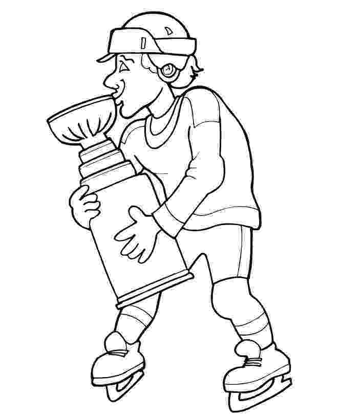 hockey pictures to color httpwwwprintactivitiescomcoloringpageshockey hockey to pictures color