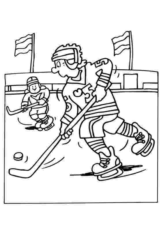 hockey pictures to color ice hockey game coloring pages free online sports hockey to pictures color