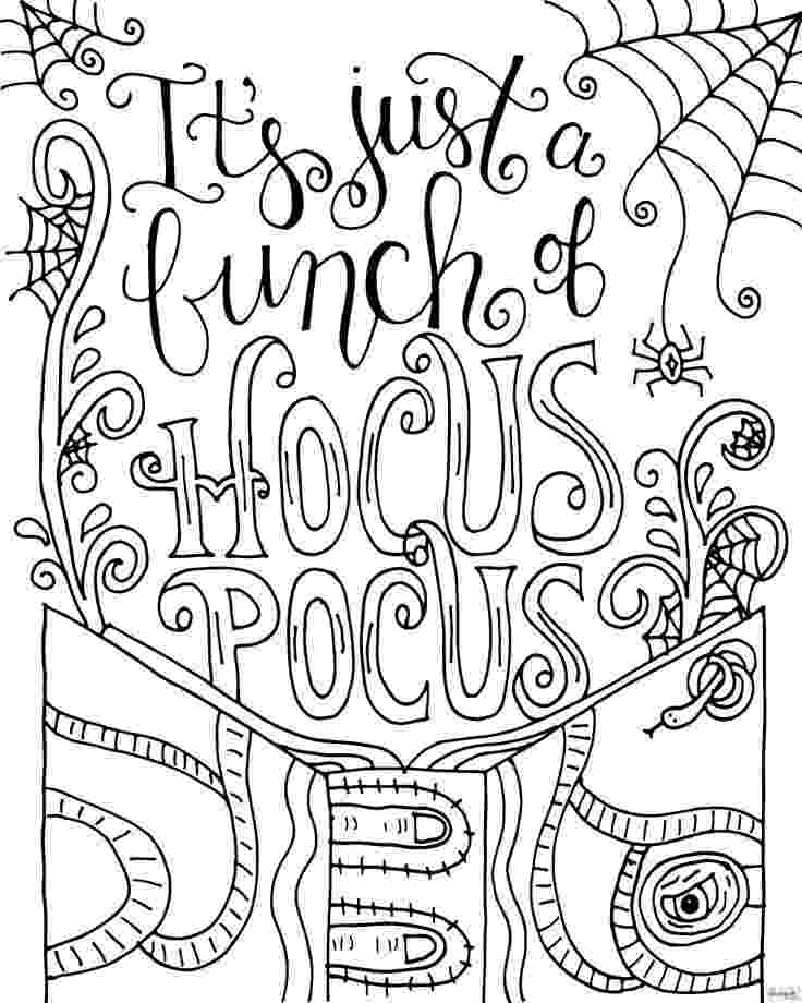 hocus pocus coloring pages hocus pocus coloring book instant printable digital pocus pages hocus coloring