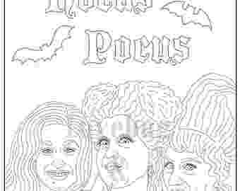 hocus pocus coloring pages hocus pocus halloween witch pages coloring pages hocus pages coloring pocus