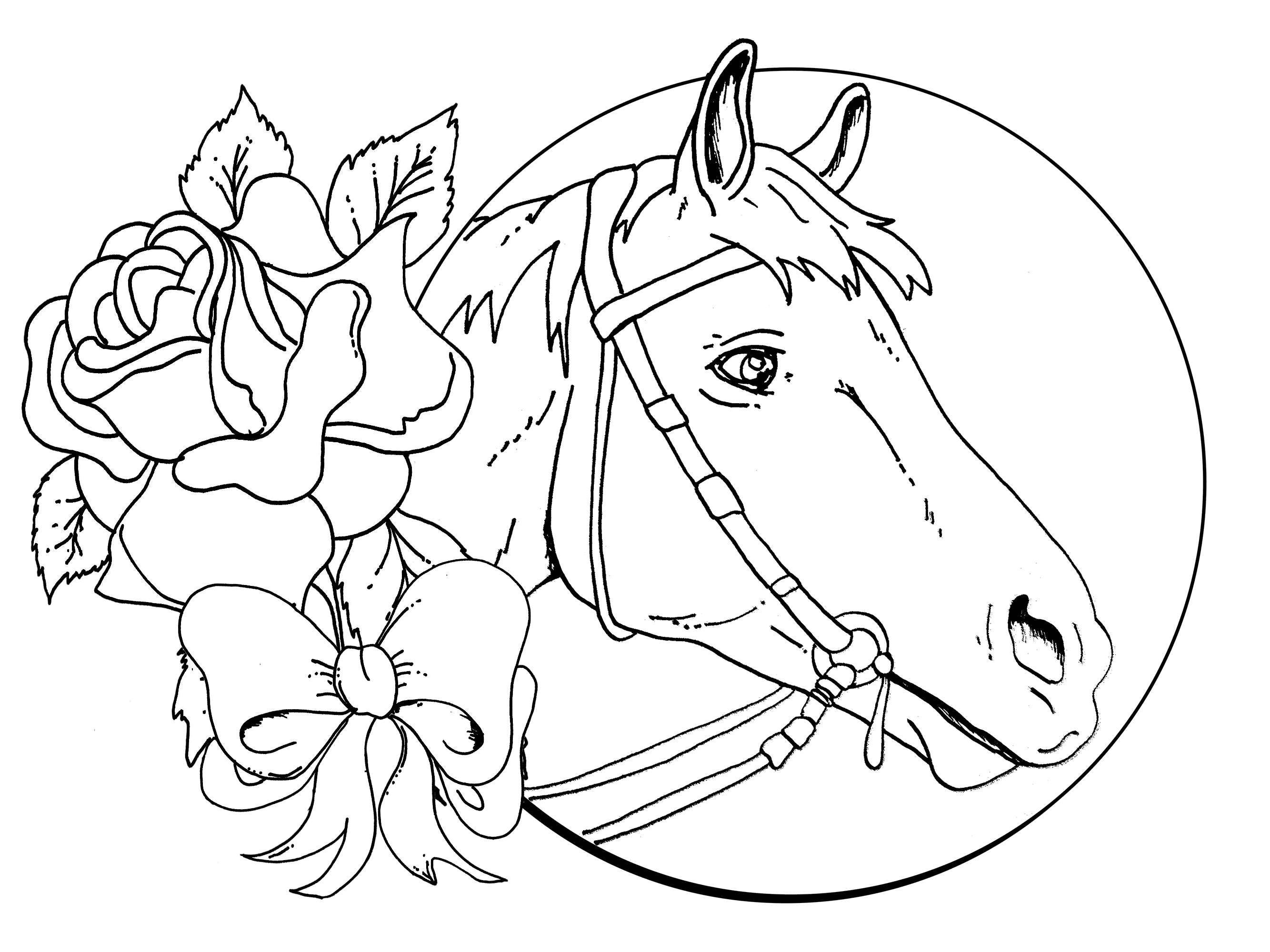 horse coloring games beautiful horse and rose game play free coloring games games horse coloring