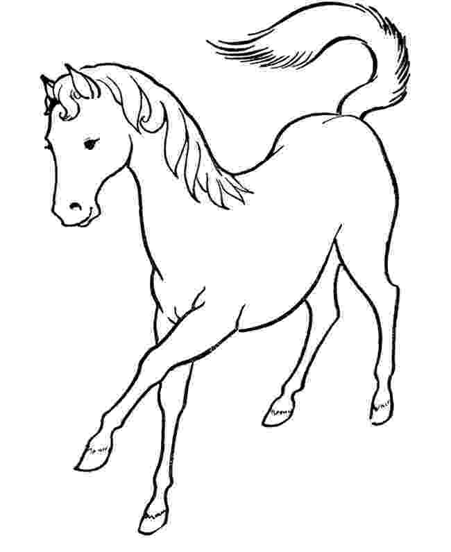 horses to color horse template animal templates free premium templates to color horses