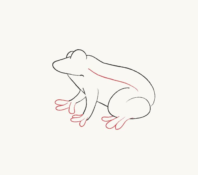 how to a frog how to draw a cartoon frog in a few easy steps easy a how frog to
