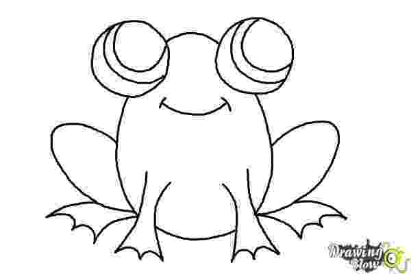 how to a frog how to draw a frog art for kids to how frog a