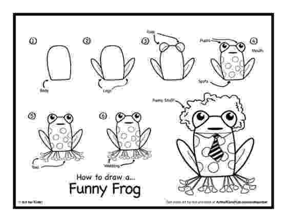 how to a frog step by step drawing of a frog how a frog to