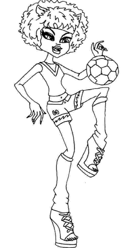 howleen wolf coloring pages monster high howleen coloring pages getcoloringpagescom coloring howleen wolf pages