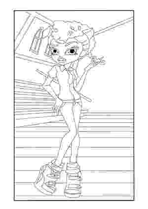 howleen wolf coloring pages monster high howleen coloring pages getcoloringpagescom howleen pages wolf coloring