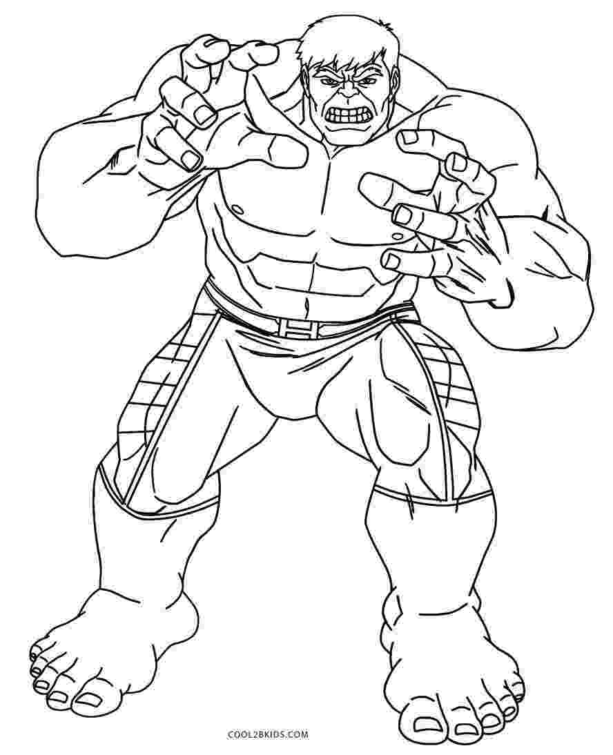 hulk coloring sheets free printable hulk coloring pages for kids cool2bkids coloring hulk sheets