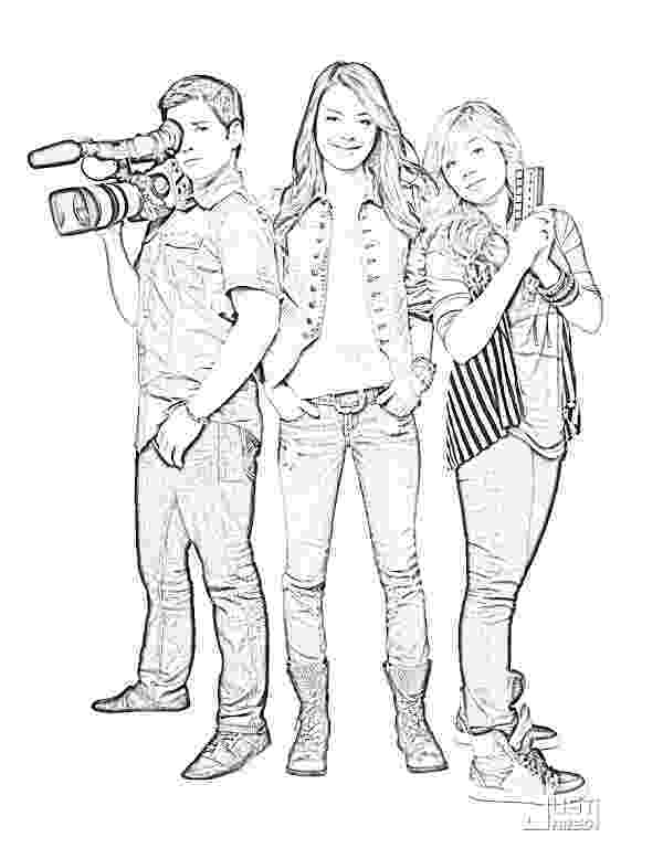 icarly pictures to print icarly coloring image 3 4 to print pictures icarly