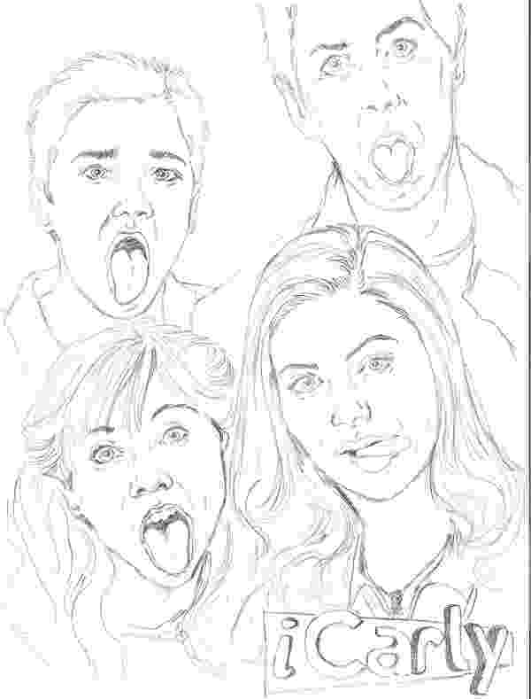 icarly pictures to print icarly coloring sheets free coloring sheet pictures icarly print to