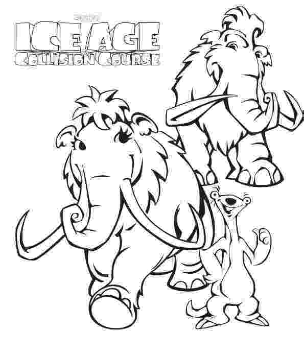 ice age coloring pages ice age coloring pages az sketch coloring page pages ice age coloring
