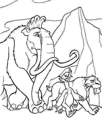 ice age coloring pages printablecolouringandactivity ice age printable colouring pages ice coloring age
