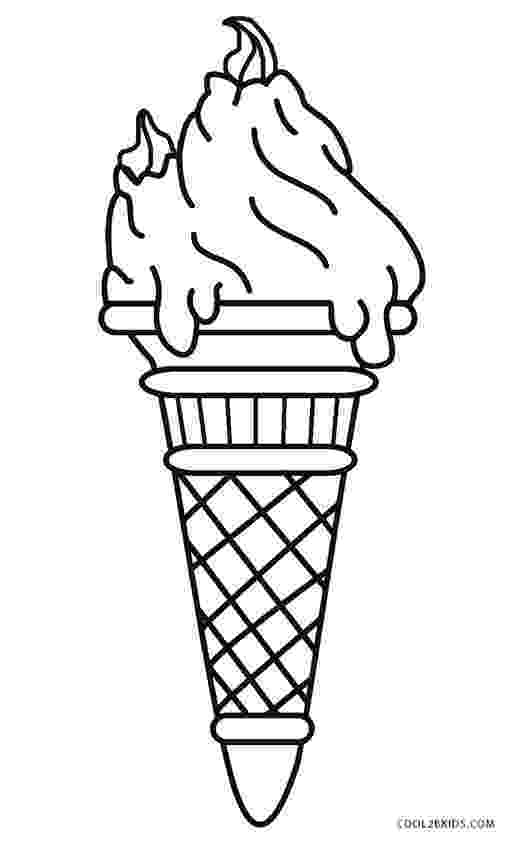ice cream cone coloring page free printable ice cream coloring pages for kids cool2bkids cream coloring ice cone page