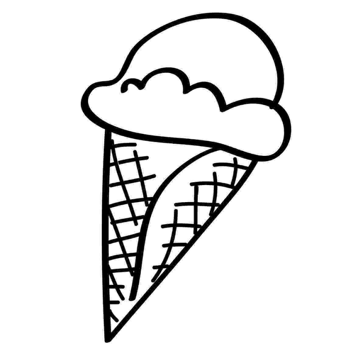 ice cream cone coloring page free printable ice cream coloring pages for kids ice cream coloring cone page
