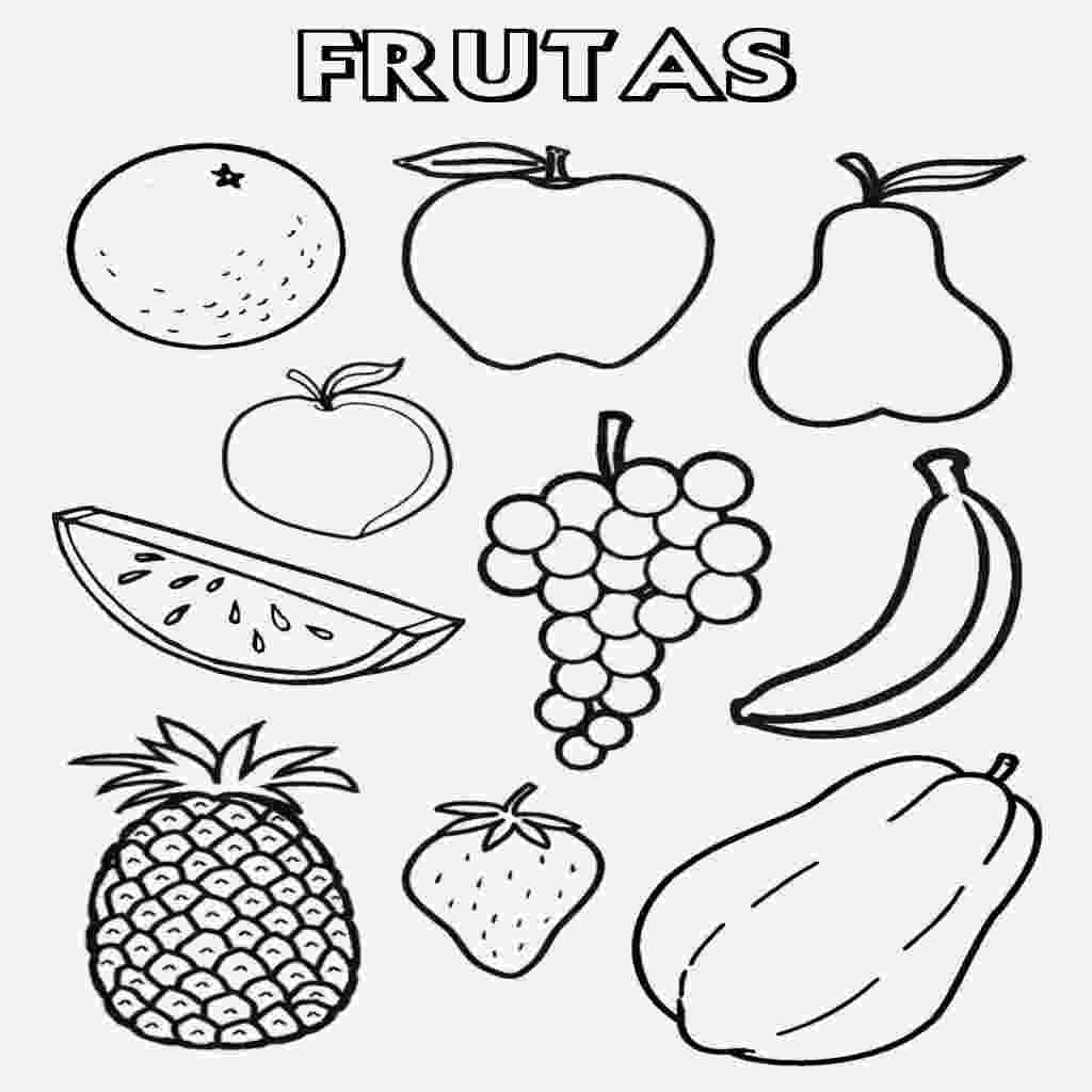 imagenes de frutas para colorear dibujos de frutas y verduras para colorear az dibujos para colorear de frutas imagenes