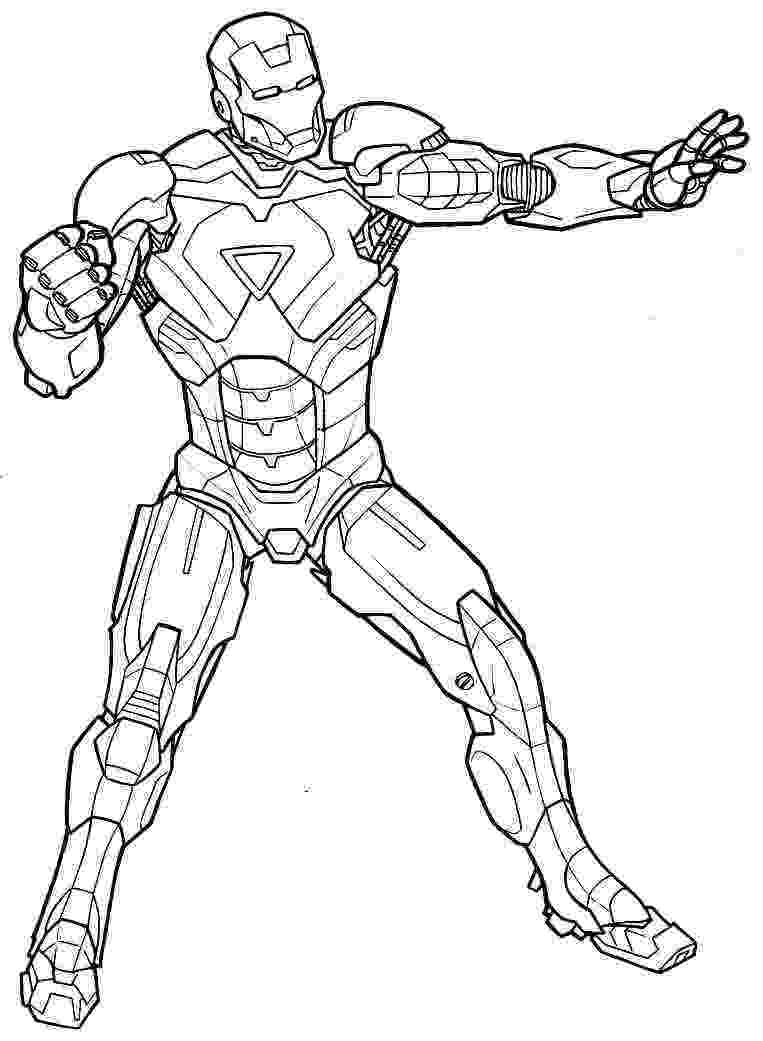 imagenes de iron man para colorear dibujos de superheroes para imprimir iron man super imagenes iron colorear de para man