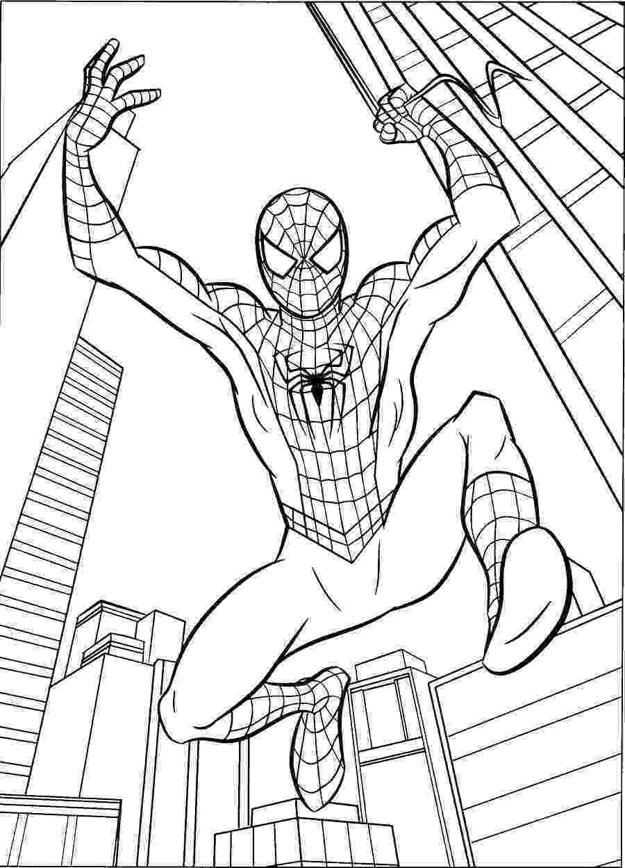 imagens do homem aranha para colorir desenhos para pintar e imprimir homem aranha imagens colorir para do