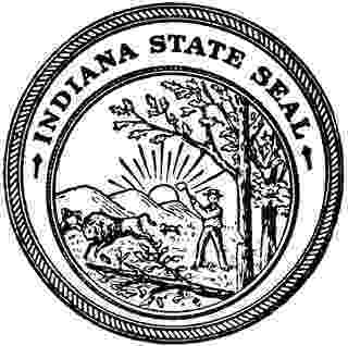 indiana state seal printable awesome north dakota state seal coloring page top free printable seal state indiana