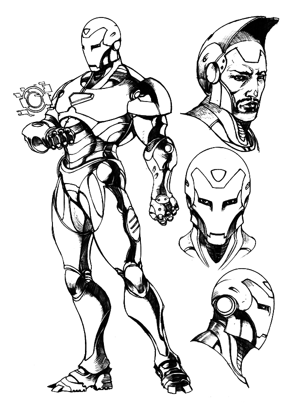 iron man color page free printable iron man coloring pages for kids best iron man color page