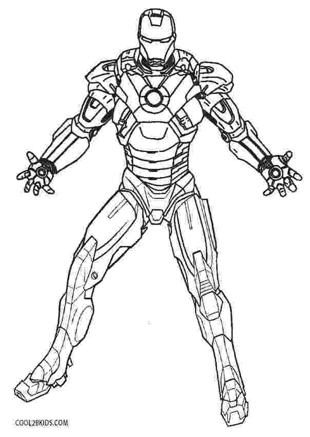 iron man color page free printable iron man coloring pages for kids best iron man page color