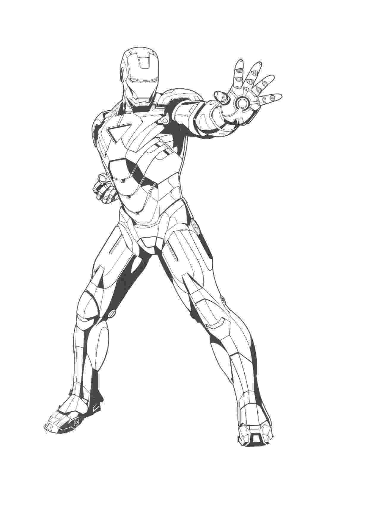 iron man color page free printable iron man coloring pages for kids cool2bkids color iron page man