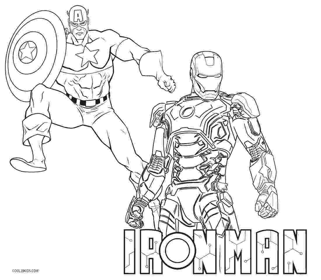 iron man color page free printable iron man coloring pages for kids cool2bkids iron page color man