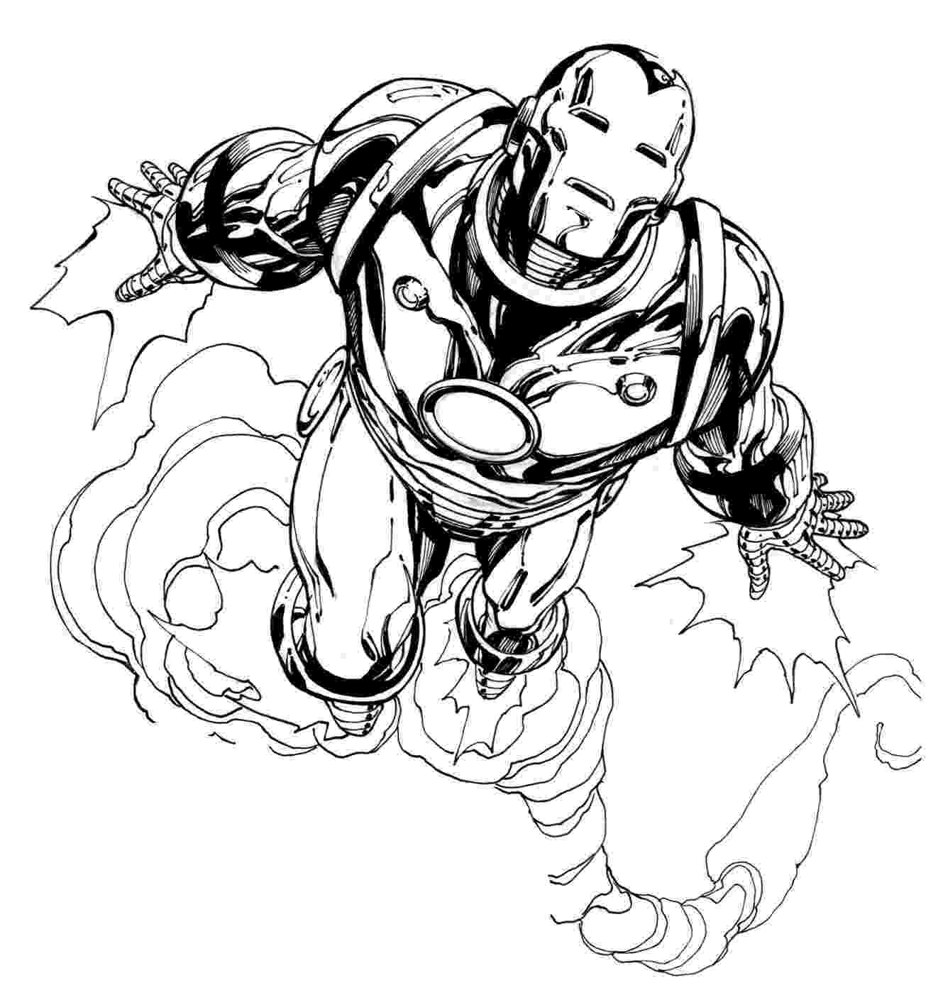 iron man color page iron man 2 coloring pages collections color page man iron