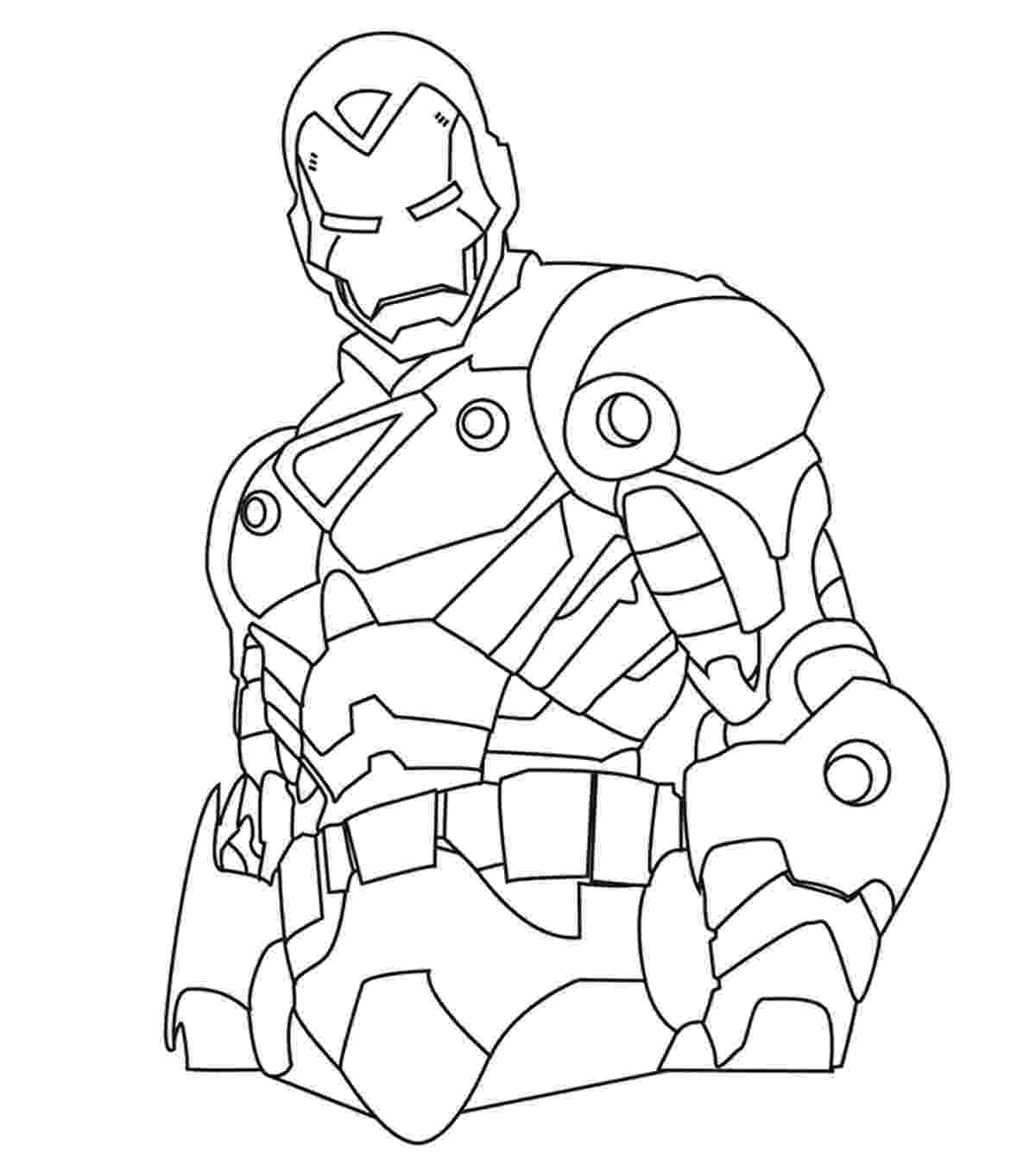 iron man color page iron man coloring pages free printable coloring pages iron color page man