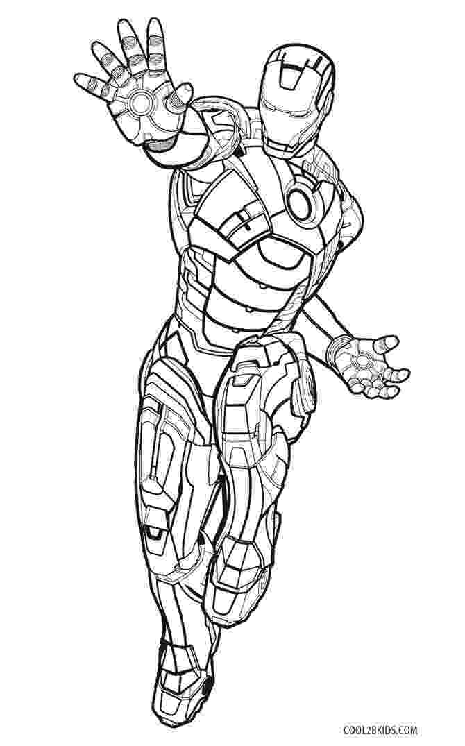 iron man coloring pages free printable iron man coloring pages for kids cool2bkids man coloring iron pages