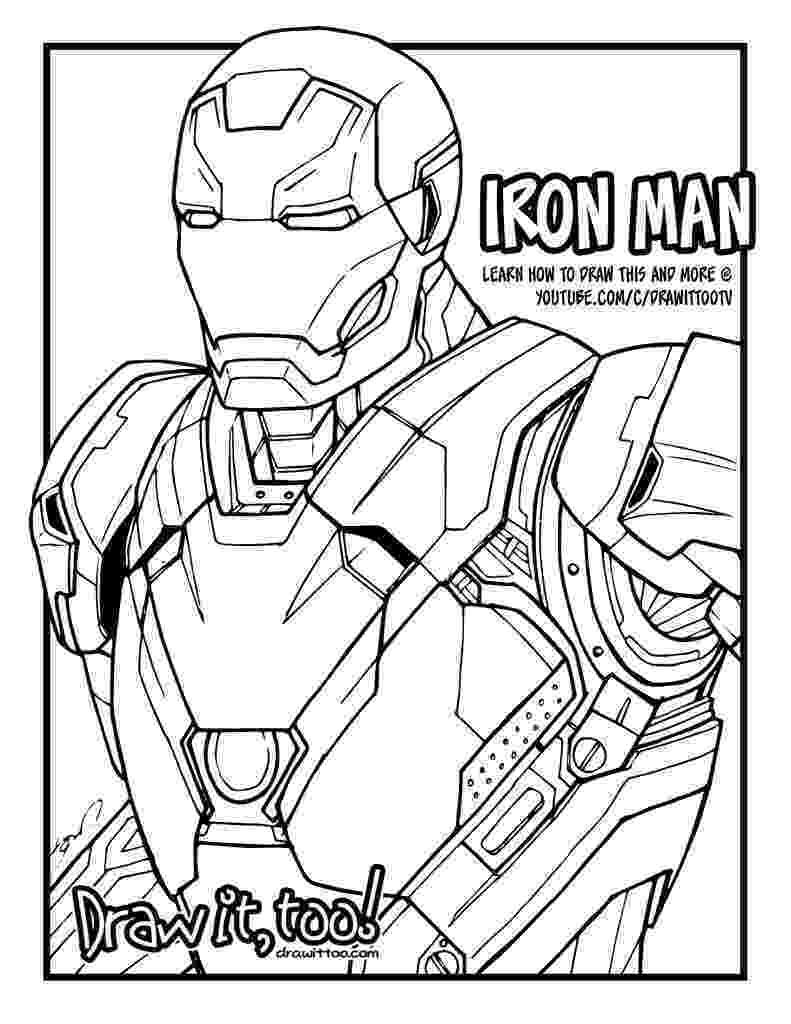 iron man coloring pages iron man hulkbuster coloring pages projects to try man pages iron coloring