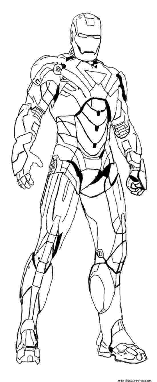 iron man print out free printable iron man coloring pages for kids cool2bkids iron out man print