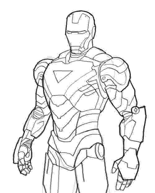 ironman colouring free printable iron man coloring pages for kids best colouring ironman 1 3