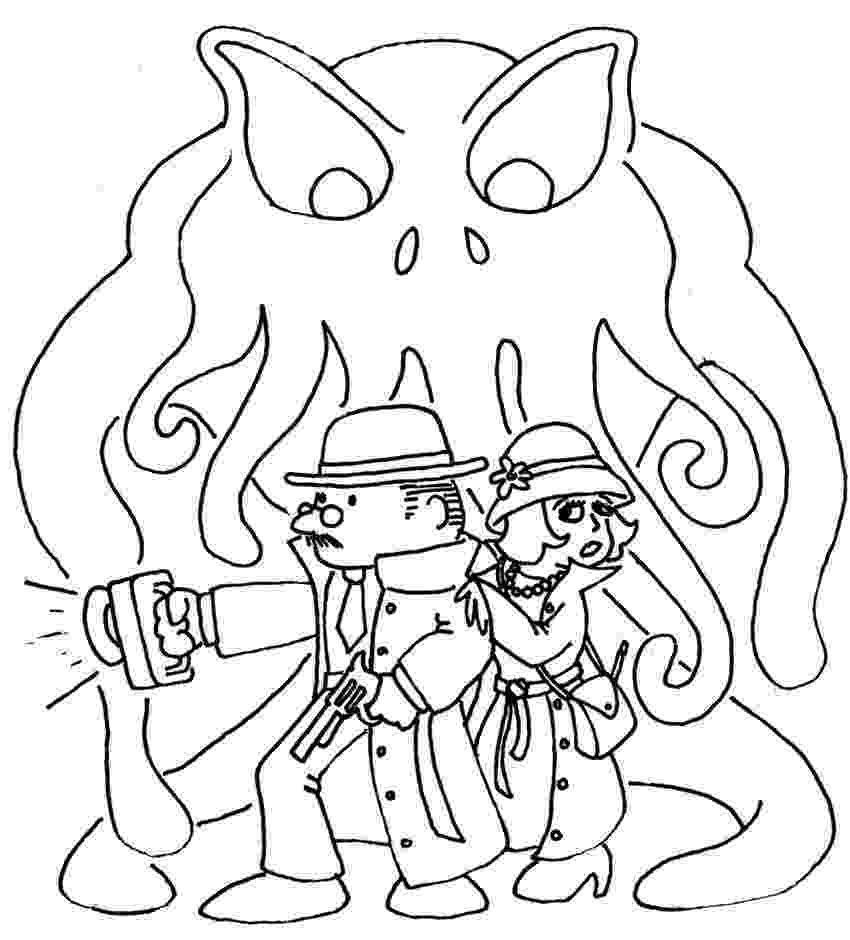 is for cthulhu coloring book 39 best coloring pages images on pinterest coloring cthulhu is for book coloring