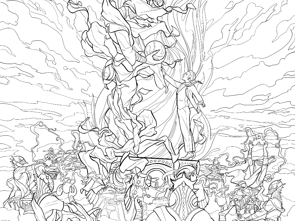 is for cthulhu coloring book 39the colouring out space39 lovecraftian colouring book by cthulhu for book coloring is