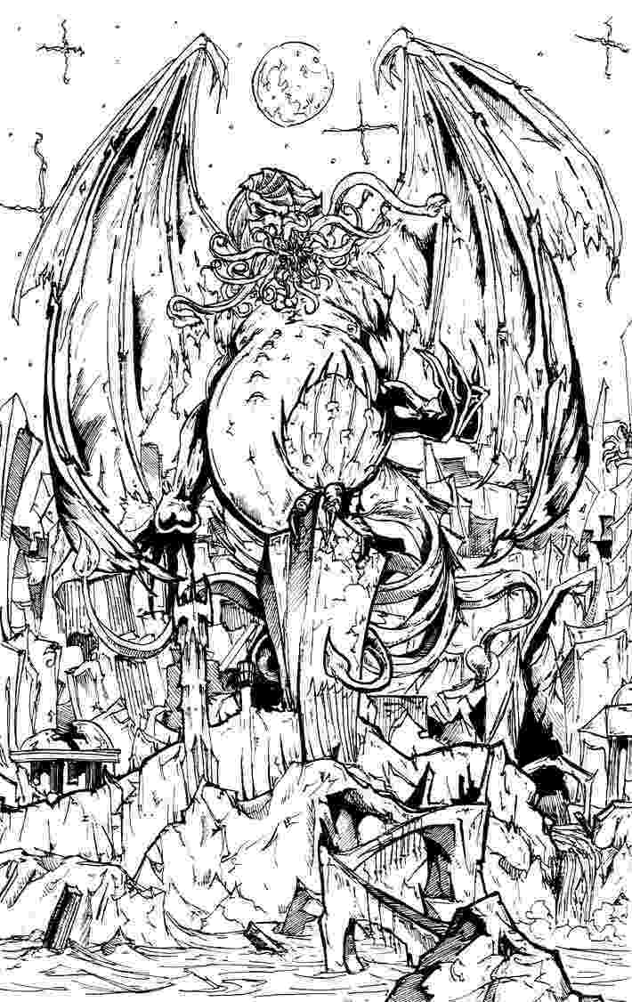 is for cthulhu coloring book cthulhu coloring book coloring cthulhu is for book