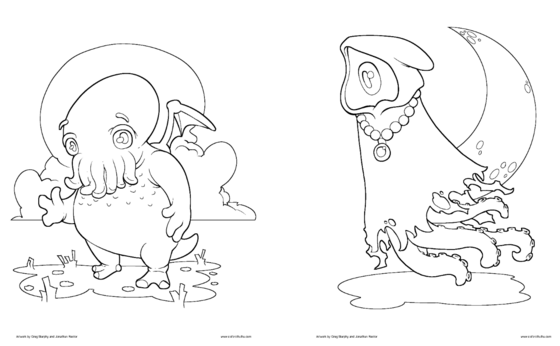 is for cthulhu coloring book cthulhu coloring page cthulhu cthulhu pinterest for is book cthulhu coloring