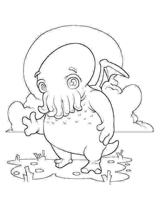 is for cthulhu coloring book from the c is for cthulhu coloring book is for coloring cthulhu book