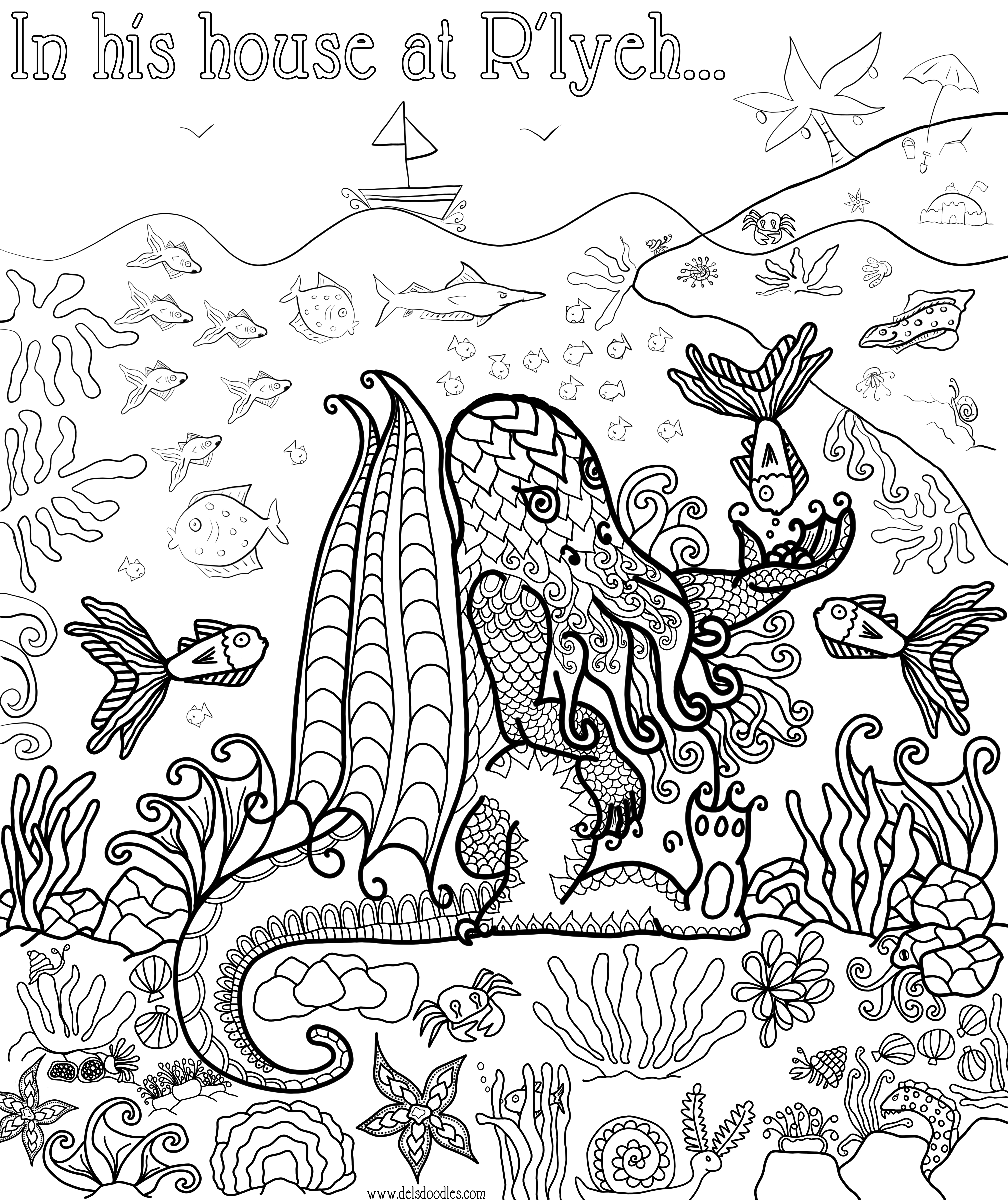 is for cthulhu coloring book yucca flats nm november 2012 book is cthulhu for coloring