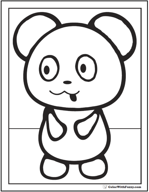 is for panda coloring pages free printable panda coloring pages for kids cool2bkids coloring pages for is panda
