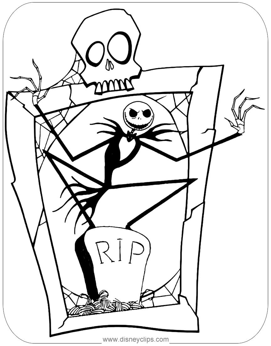 jack skellington coloring pages jack skellington by clowndomain on deviantart coloring jack skellington pages