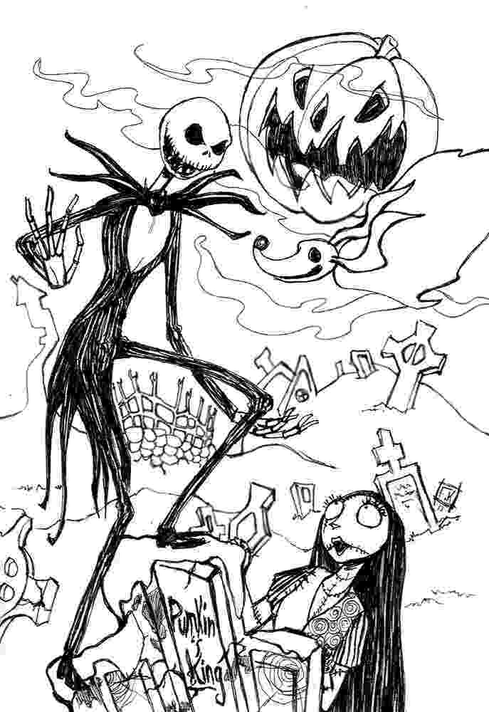 jack skellington coloring pages the nightmare before christmas coloring pages skellington coloring jack pages