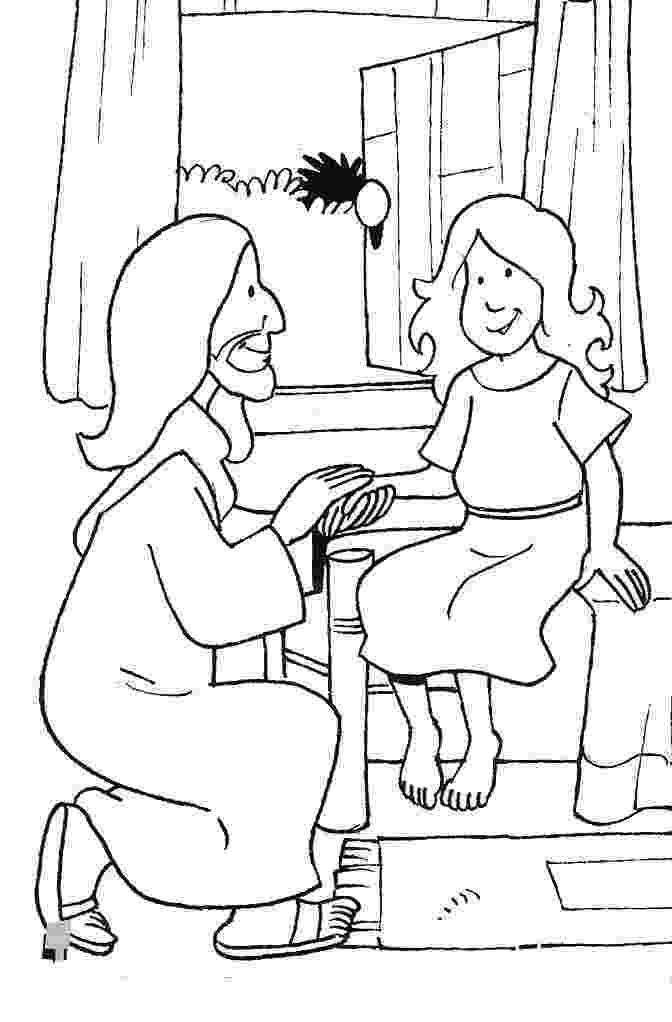 jairus daughter colouring sheets 20 best jesus heals jairus39 daughter images jairus jairus colouring daughter sheets