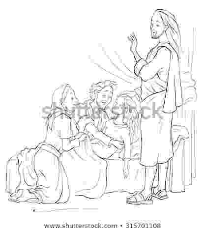 jairus daughter colouring sheets het dochtertje van jaïrus 1 kids church lessons colouring daughter sheets jairus