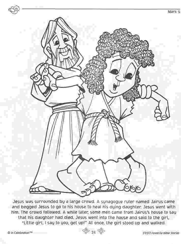 jairus daughter colouring sheets jairus39 daughter coloring page sundayschoolist jairus colouring daughter sheets