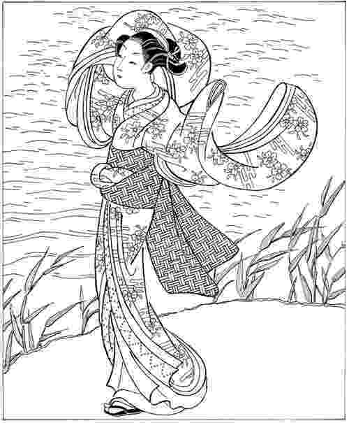 japanese coloring pages abcteach printable worksheet japan theme unit kabuki coloring pages japanese