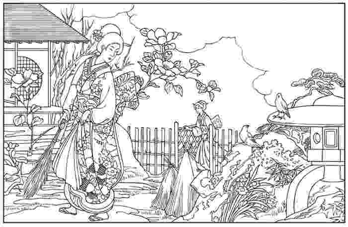 japanese coloring pages japanese coloring books for adults cleverpedia coloring pages japanese